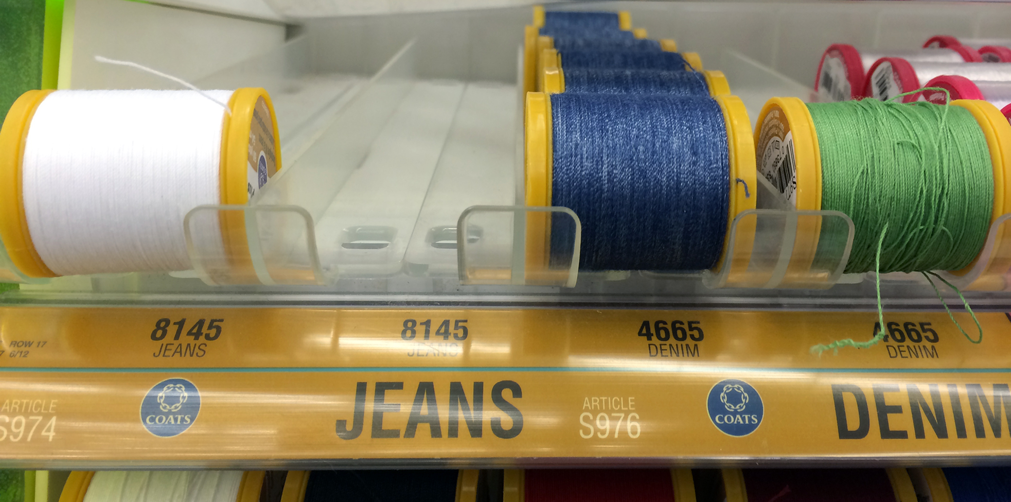 Savvy Sewists Use these Kinds of Threads for Hemming Jeans